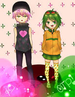 Vy2 And Gumi by fameena