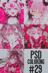 [PSD] PSD coloring #29 by JennyBabyKawaii