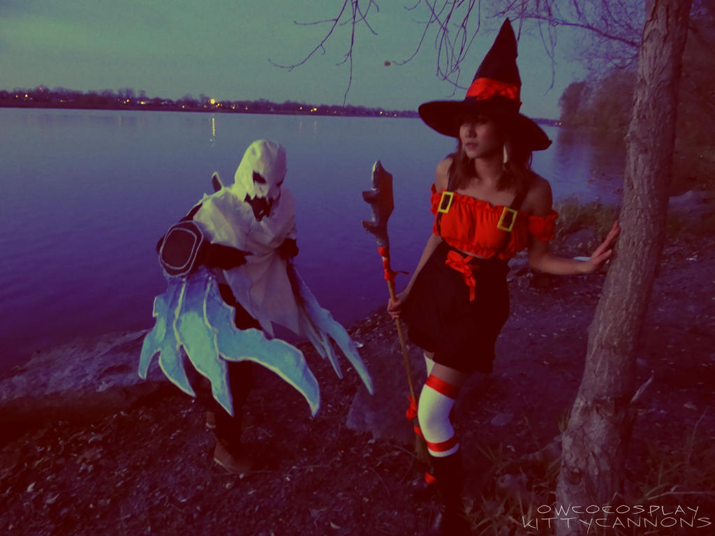 Haunting Nocturne and Bewitching Nidalee cosplay by ...