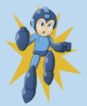 Mega Man (Redbubble)