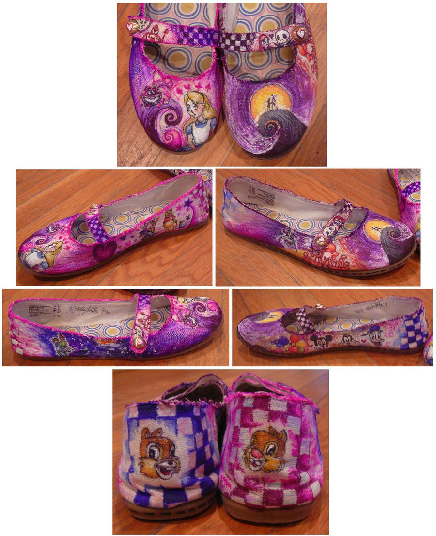 The Happiest Shoes on Earth by Arasha