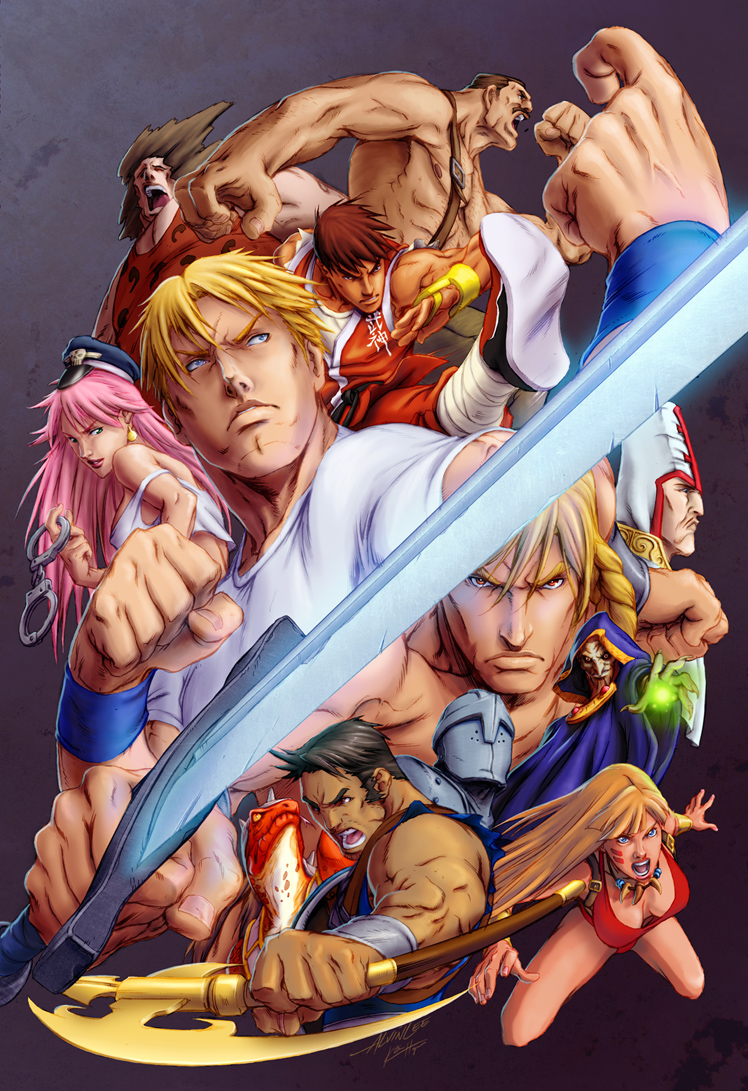 Final Fight Double Impact By Angelwingkitty On Deviantart