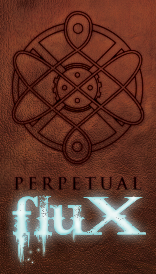 Perpetual Flux Business Card by angelwingkitty