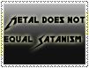 Metal is not SATANIC