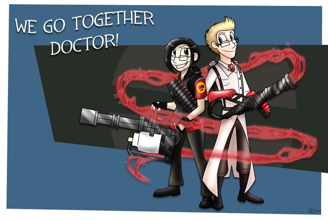 We Go Together by DarkRavenofChaos