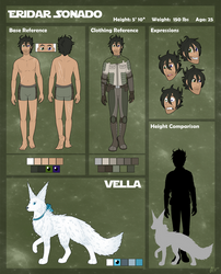Eridar and Vella Reference Sheet