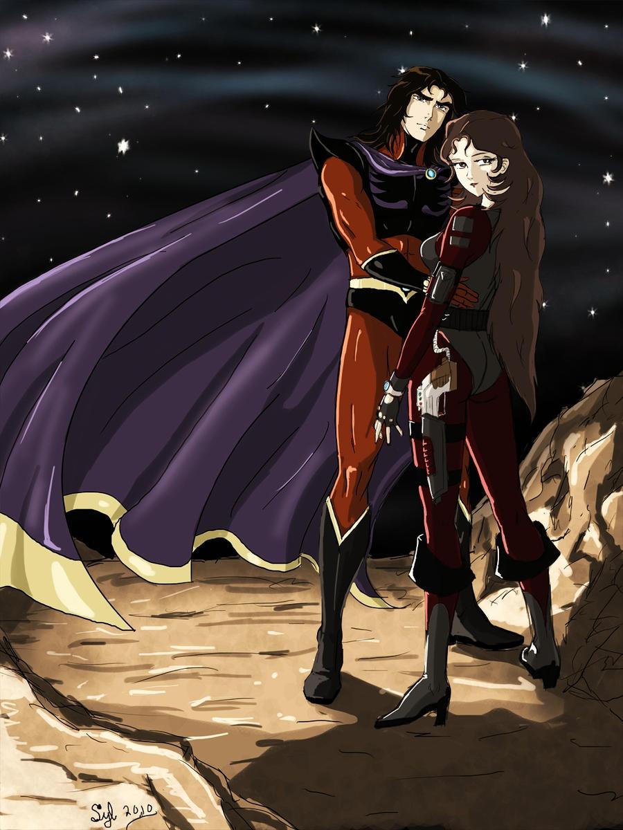 Actarus et venusia pour youk by acturus1 on deviantart - Femme chat manga ...
