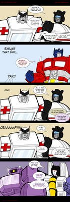 War for Cybertron 3 by Comics-in-Disguise