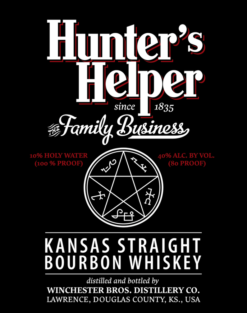 'Hunter's Helper' Black Label by i-doru