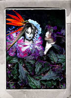 Faerie: Titania and Oberon by i-doru