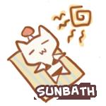 Sun-bathing by Rurucha