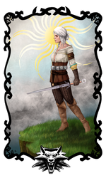 -Witcher Tarot: The Fool-