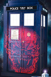 Somebody Attacked The TARDIS! :O by HopeTheDetective