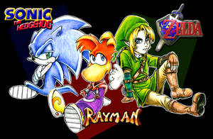 Favorite Game characters by DaneeCastillo