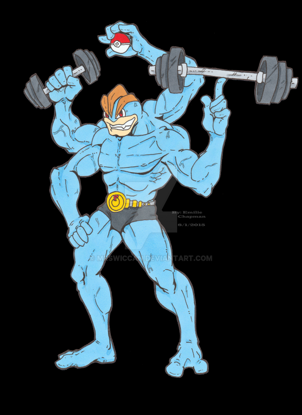 Machamp Gym Reveals Amazing Anecdotes About This Muscle-Bound ...