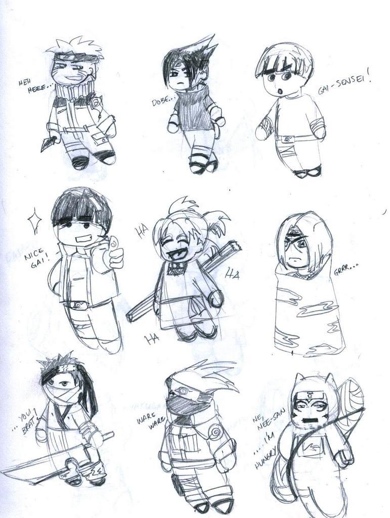 Chibi Naruto Characters By Ayato2311