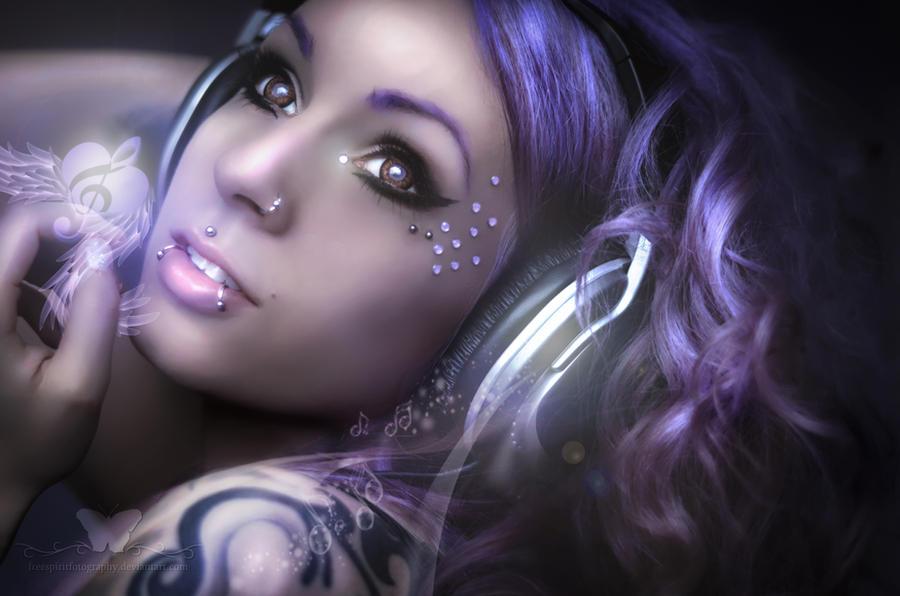 I Love Music by FreeSpiritFotography