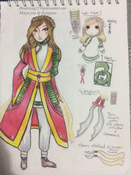 Magi OC: Gerel reference by headstrong210