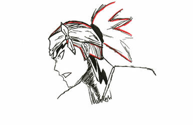 Renji Penned (Inktober picture)