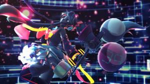 Magical Mirai 2018 - Happy Birthday Miku~ by ChrissyNoelle