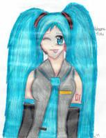 Hatsune Miku by 4thChairSwag