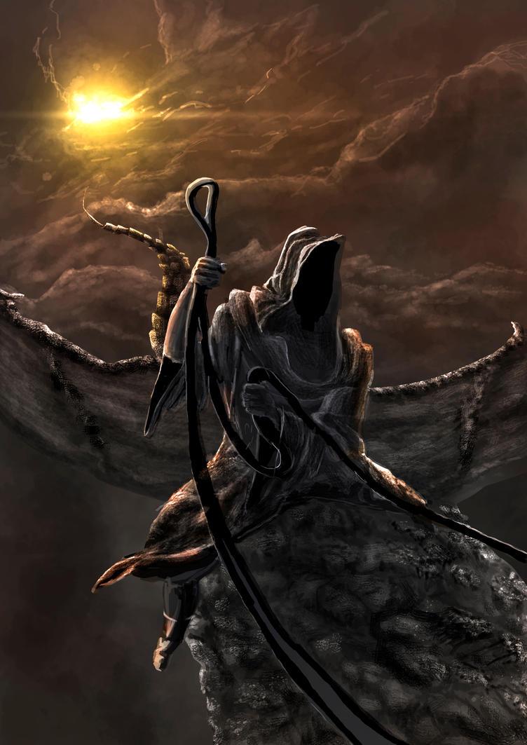 ringwraith by UncleHeinz
