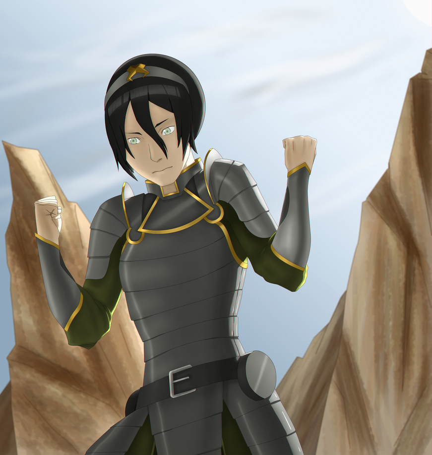 .::Chief of Police Toph Bei Fong::. by hudporco