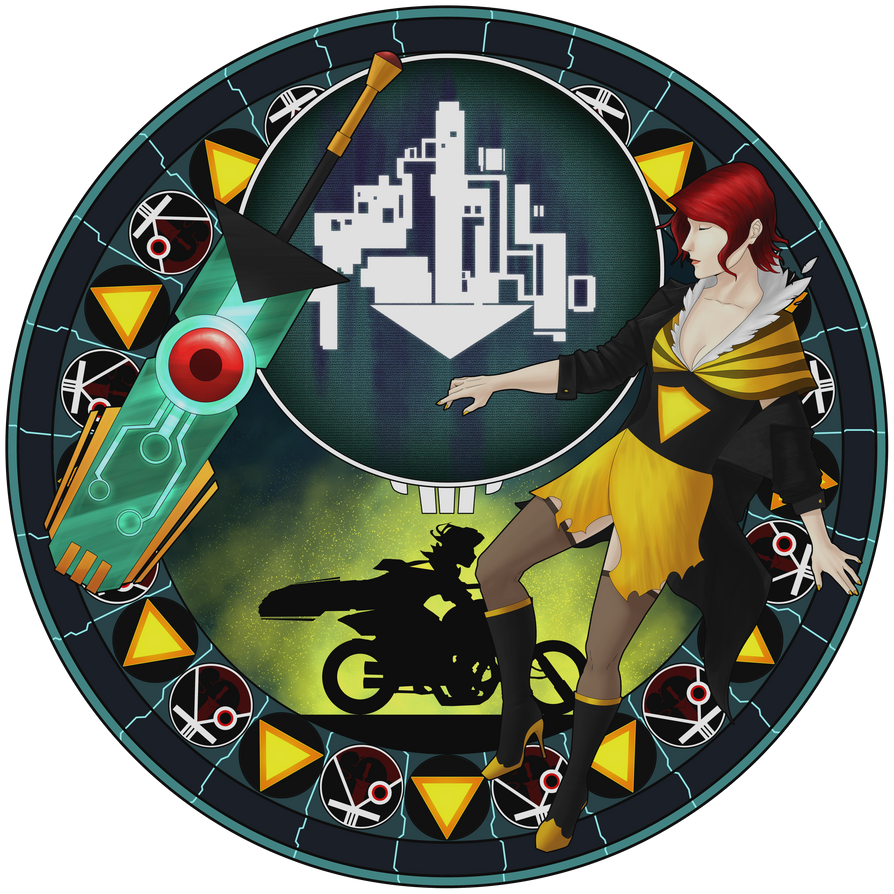 .::Transistor Stained Glass::. by hudporco