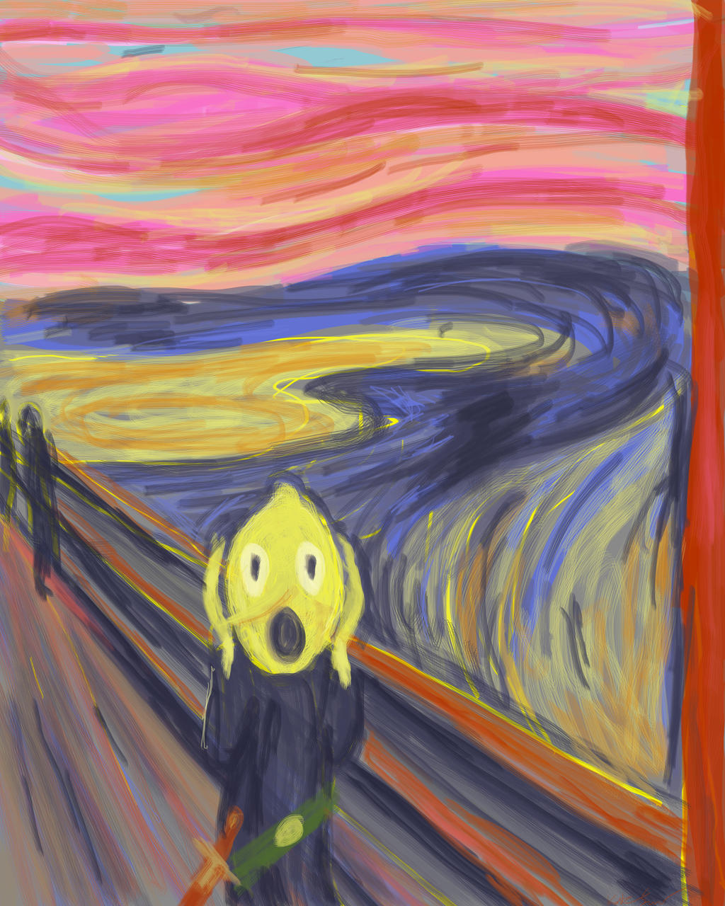 Lemongrab Scream by mossoak