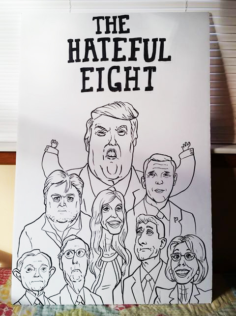 The Hateful Eight by mossoak