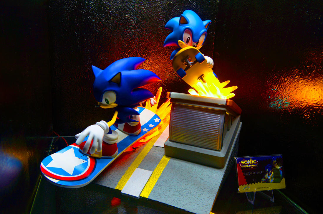 First 4 Figures Sonic Generations Diorama by Cobra-Roll