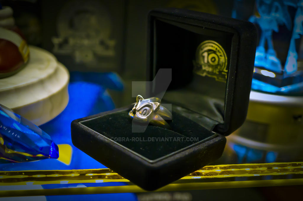 Sonic 10th Anniversary Silver Ring by Cobra-Roll