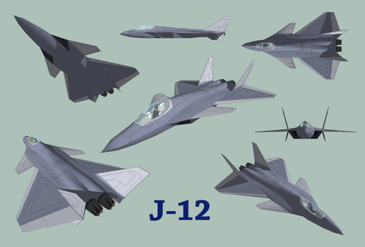 J-12 Chinese Stealth Fighter