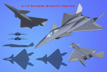 J-13 Chinese Stealth Fighter