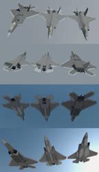 F-22 F-35 unnamed hybrid by diasmon