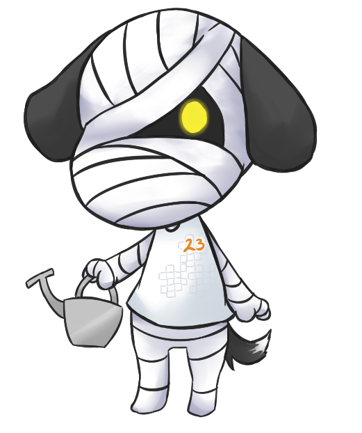 Animal Crossing: Lucky! by Kyou-Sei on DeviantArt