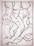 Figure in Ink by falsegodz