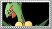 Mega Sceptile Stamp by Hero-T