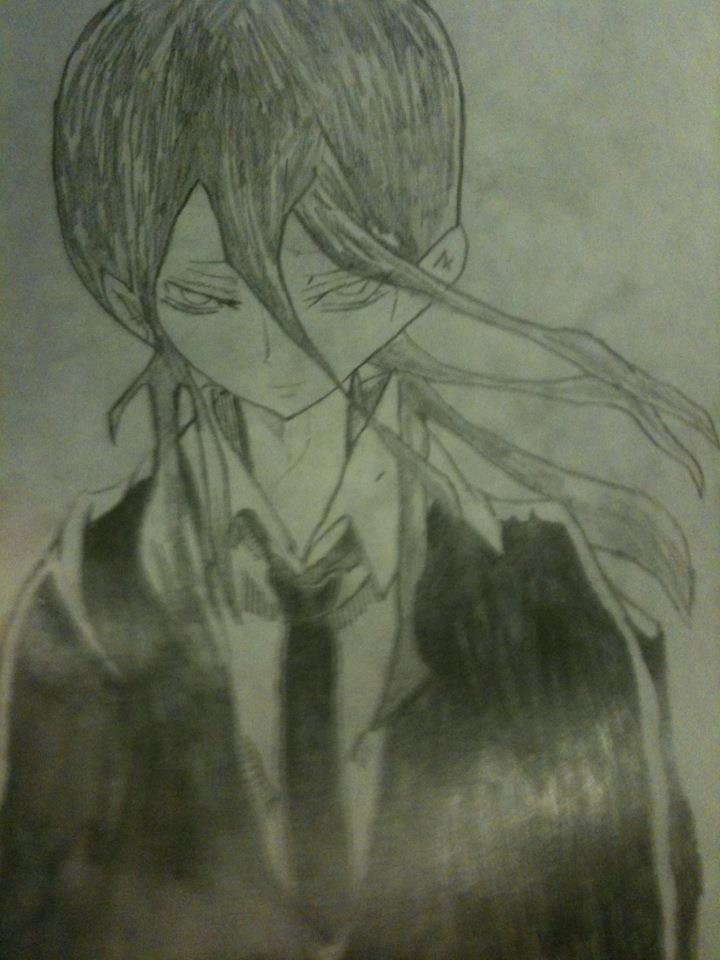 hand drawing by me based off of ultimo by hexgirl6 on