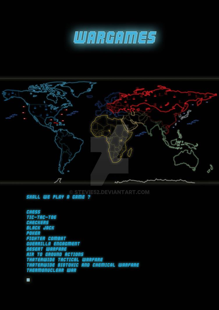 Wargames Poster By Stevie52 On Deviantart