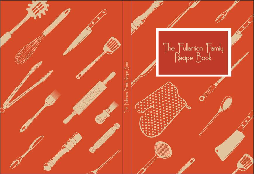 Recipe Book Cover Design By Stevie52