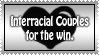 Interracial Love Stamp by SGStamps