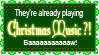 Christmas Music Stamp by SGStamps