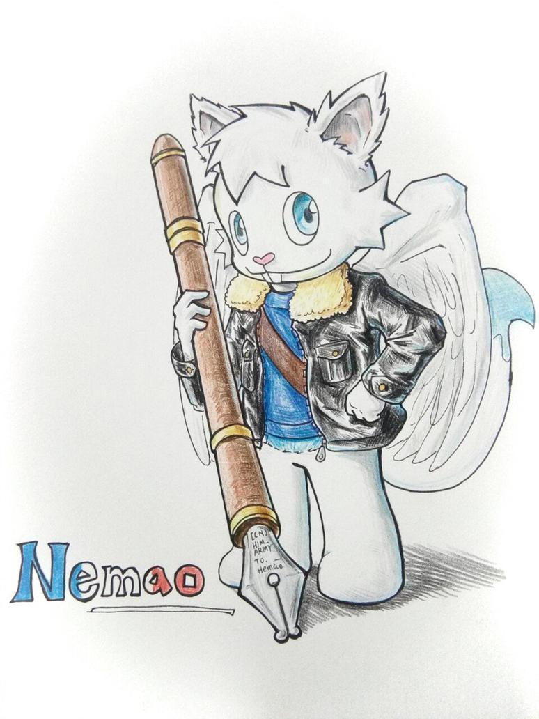 amazing fan art by HIM ARMy by NemaoHTF