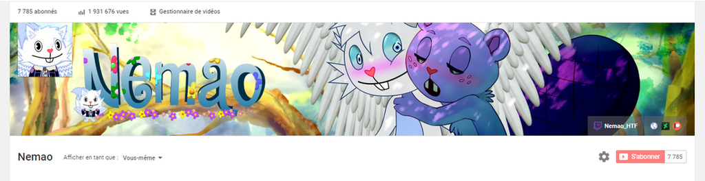 New banner design yt by NemaoHTF