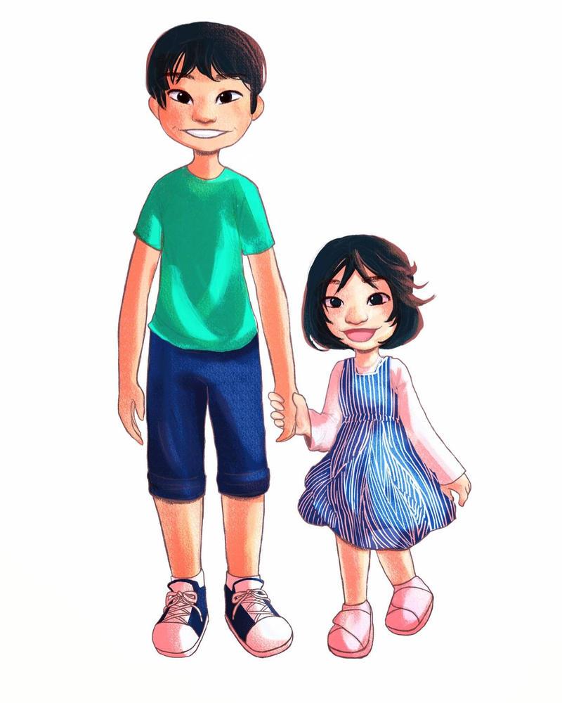 Zach and Zara by YukiSachiko