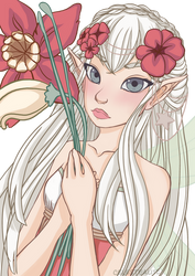 Flower Elf Fairy by YukiSachiko