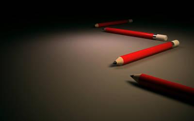 Pencils by monsteer