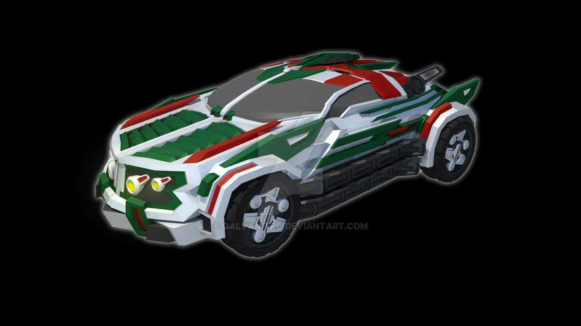 Vanguard Wheeljack (2015) - Vehicle Mode by Galvanitro on DeviantArt