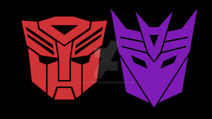 Vanguard 2016 - Autobot and Decepticon Emblems by Galvanitro